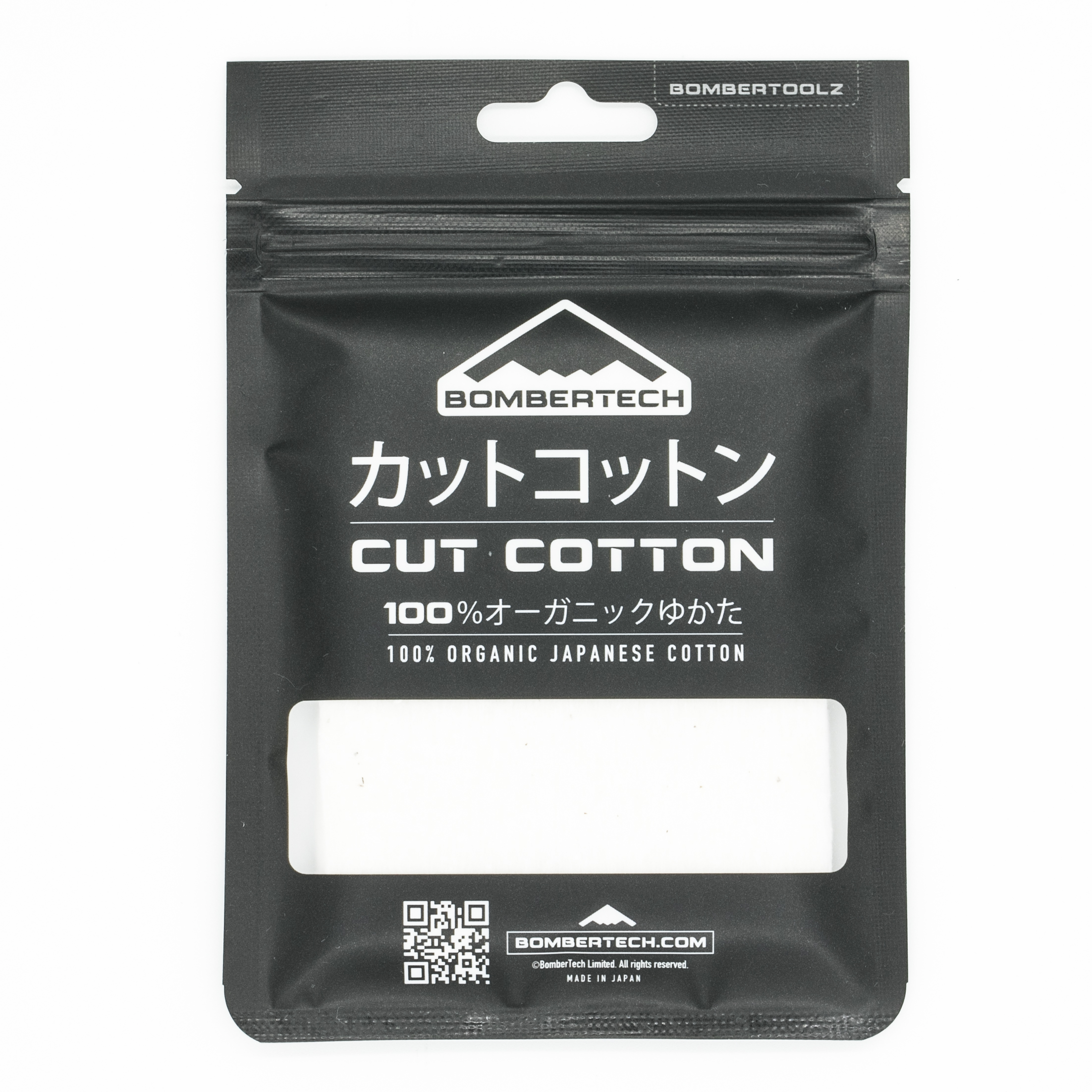BomberTech Cut Cotton Japanese Organic Cotton